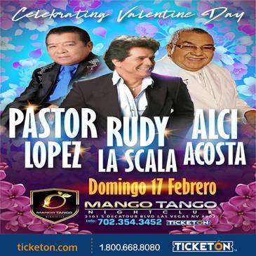PASTOR LOPEZ, ALCI ACOSTA y RUDY SCALA: Main Image
