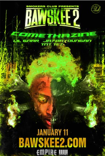 Smokers Club Presents: B2 Tour ft. Comethazine + Lil Gnar: Main Image
