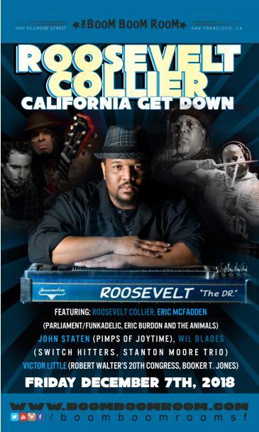 Roosevelt Collier's California Get-Down (w/ Eric Mcfadden +): Main Image