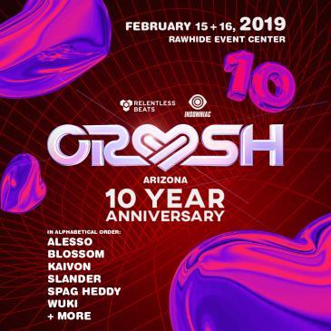 Crush AZ 2019 - 10 Year Anniversary: Main Image