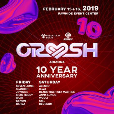 Crush AZ 2019 - 10 Year Anniversary: Main Image