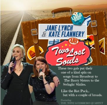 Jane Lynch & Kate Flannery are Two Lost Souls: Main Image