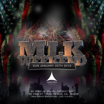 MLK Weekend  @ Avalon-img