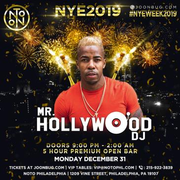 NYE2019: Mr. HollywoodDJ: Main Image