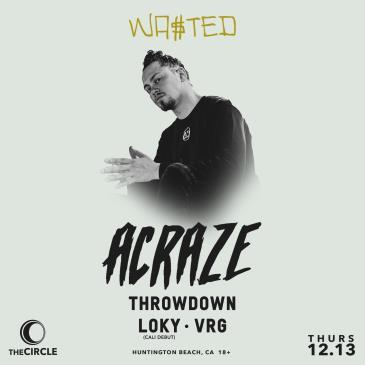 Acraze w/ Throwdown & Loky: Main Image
