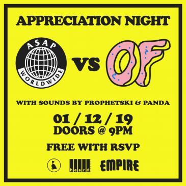 A$AP Mob vs. Odd Future Appreciation Night: Main Image