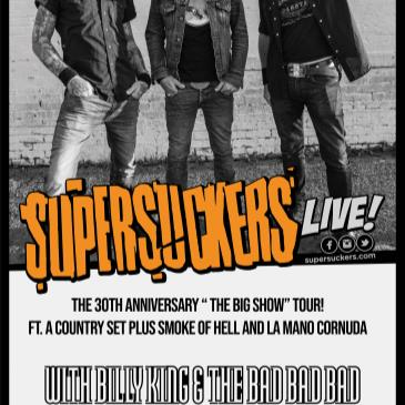 Supersuckers 30th Anniversary The Big Show Tour-img