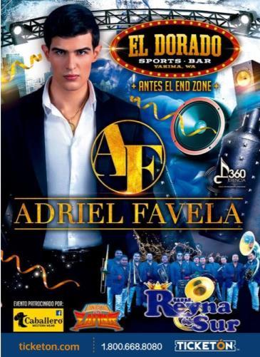 ADRIEL FAVELA: Main Image