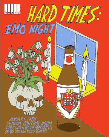 Hard Times: Emo Night ft. King Ding: Main Image