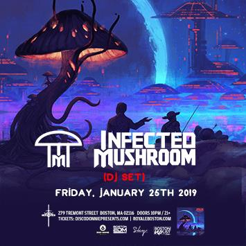 Infected Mushroom (DJ Set ) - BOSTON: Main Image