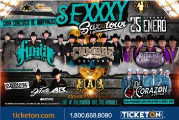 SEXXXY SAX TOUR: Main Image