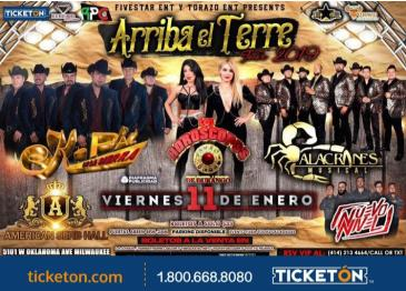 ARRIBA EL TERRE TOUR 2019: Main Image