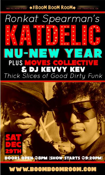 Katdelic  (funk dance party) + The Moves Collective: Main Image