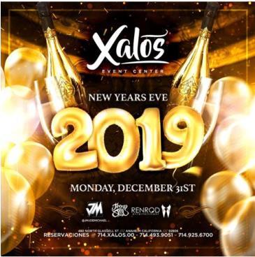 NEW YEARS EVE 2019: Main Image