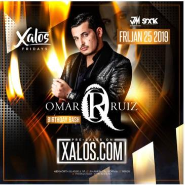 OMAR RUIZ BIRTHDAY BASH EN XALOS: Main Image