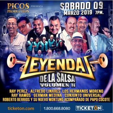 LEYENDAS DE LA SALSA VOLUMEN II: Main Image