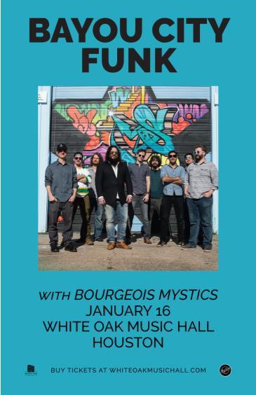 Bayou City Funk, Bourgeois Mystics: Main Image