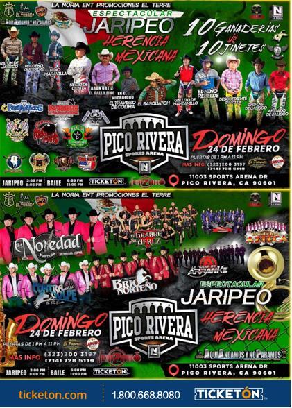 Jaripeo Events