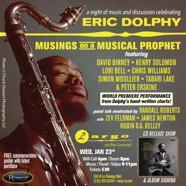Musings on a Musical Prophet: An Evening of Eric Dolphy: Main Image