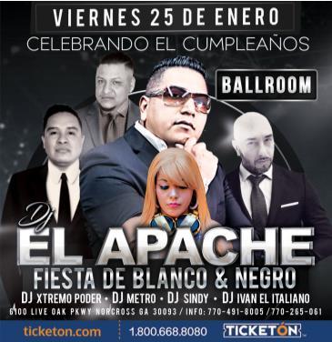 CELEBRACION DE DJ El APACHE: Main Image