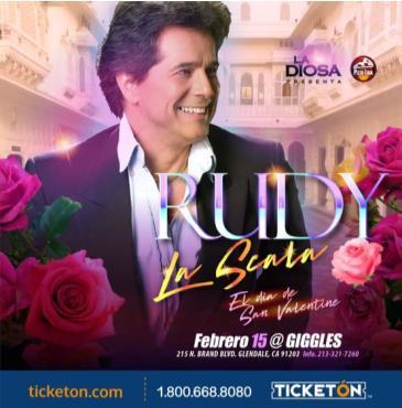 RUDY LA SCALA: Main Image
