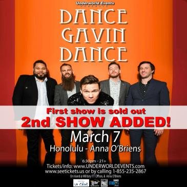 Dance Gavin Dance Presented by Underworld Events-img