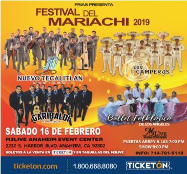 FESTIVAL DEL MARIACHI 2019: Main Image
