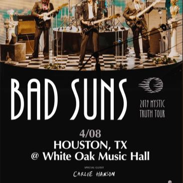 Bad Suns, Carlie Hanson-img