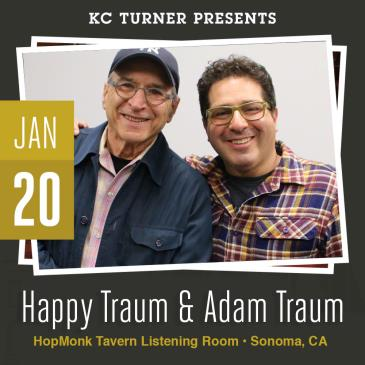 Happy Traum & Adam Traum: Main Image