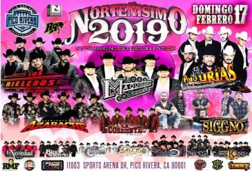 NORTENISIMO 2019-RIELEROS-MAQUINARIA-P.URIAS-AZABACHE Y MAS: Main Image