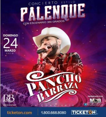 PANCHO BARRAZA EN CONCIERTO: Main Image