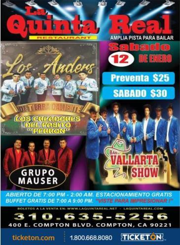 LOS ANDERS DE TIERRA CALIENTE: Main Image