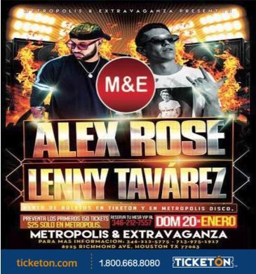 ALEX ROSE Y LENNY TAVAREZ: Main Image