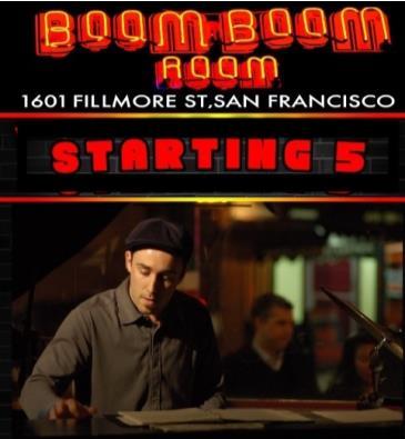 STARTING 5 (Funk, Soul-Jazz, Boogaloo Stars): Main Image