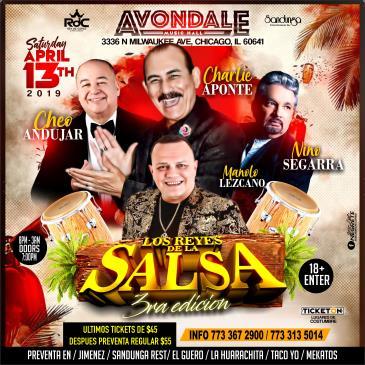 LOS REYES DE LA SALSA 3RA EDICION: Main Image