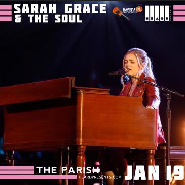 Sarah Grace & The Soul: Main Image