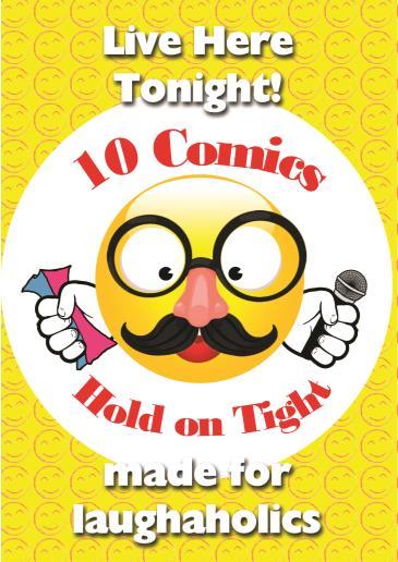 Huxley's presents BonkerZ Comedy Club 10 Comics Laugh-A-Thon: Main Image