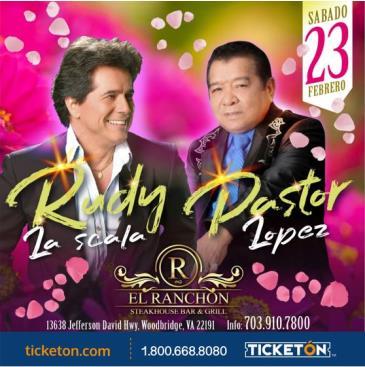 RUDY LA SCALA & PASTOR LOPEZ: Main Image