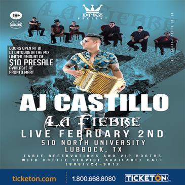 AJ CASTILLO & LA  FIEBRE: Main Image