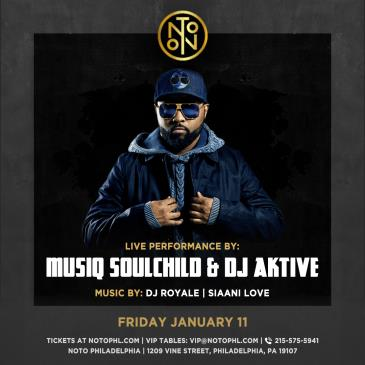 Musiq Soulchild & DJ Aktive: Main Image
