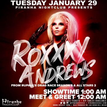 ROXXXY ANDREWS FROM RUPAULS DRAG RACE: Main Image