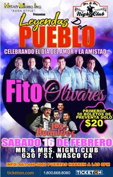 FITO OLIVARES Y LOS HUMILDES: Main Image