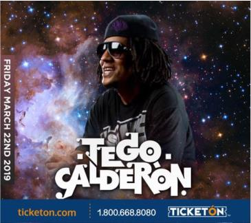 TEGO CALDERON (FRIDAY CONCERT 18+ Event): Main Image