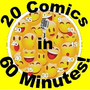 BONKERZ PRESENTS 20 COMICS IN 60 MINS 2 for 1 Show 8:45pm: Main Image