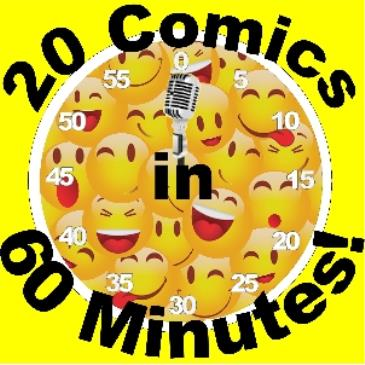 BONKERZ PRESENTS 20 COMICS IN 60 MINS 2 for 1 Show 8:45pm-img