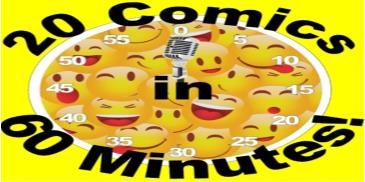 BONKERZ PRESENTS 20 COMICS IN 60 MINS 2 for 1 Show 7pm: Main Image