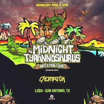 Midnight Tyrannosaurus - SAN ANTONIO: Main Image