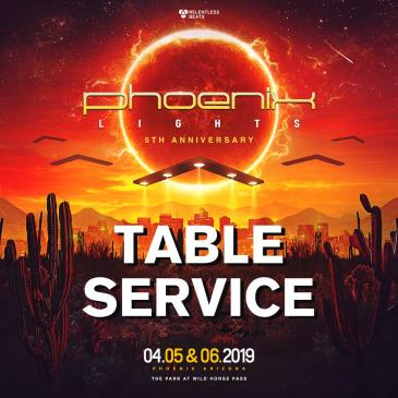 Phoenix Lights 2019 - Tables: Main Image