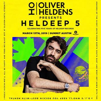 Oliver Heldens - AUSTIN: Main Image