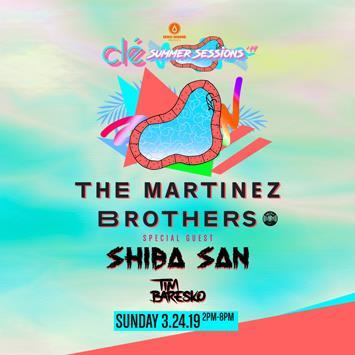 Martinez Bros and Shiba San - HOUSTON: Main Image